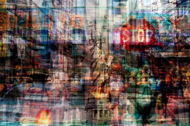 Суета мегаполиса в абстрактных фото итальянца Алессио Треротоли