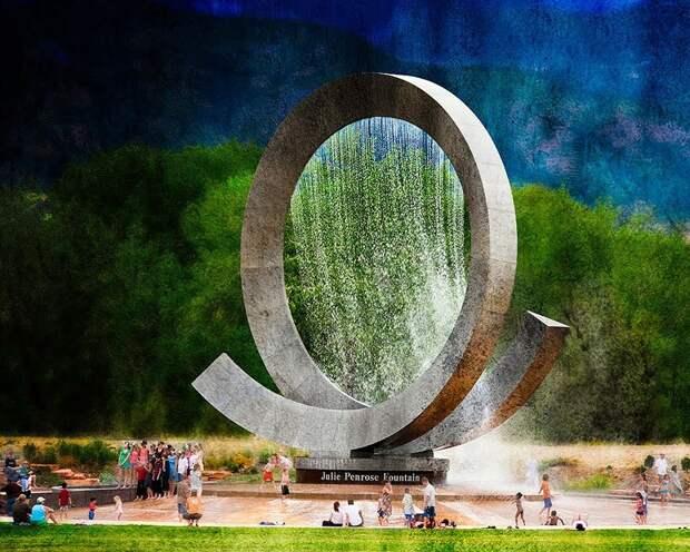 25 самых удивительных фонтанов со всегомира