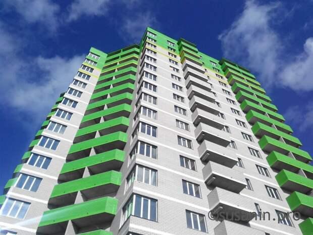 Цена квадратного метра в новостройках Удмуртии выросла почти на 2 000 рублей