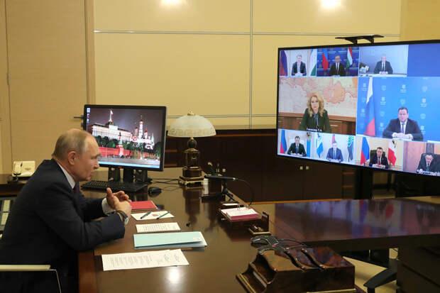 Путин посоветовал Собянину «не прибедняться»