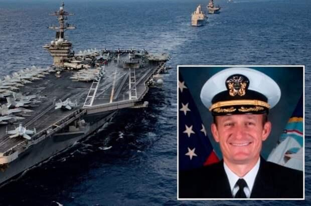 """Капитан атомного авианосца США молит о помощи: """"Мы не хотим умирать, прошу отправить всю команду на берег"""""""