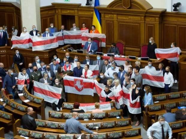 Как Украина интерпретирует события в Белоруссии