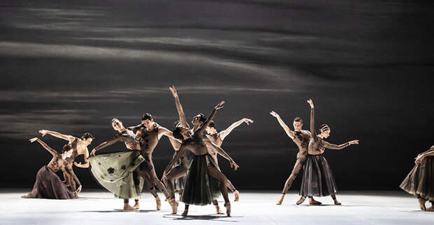 Работы Кьюри для балета.