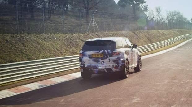 В Гудвуде промчит новый быстрейший Range Rover Sport