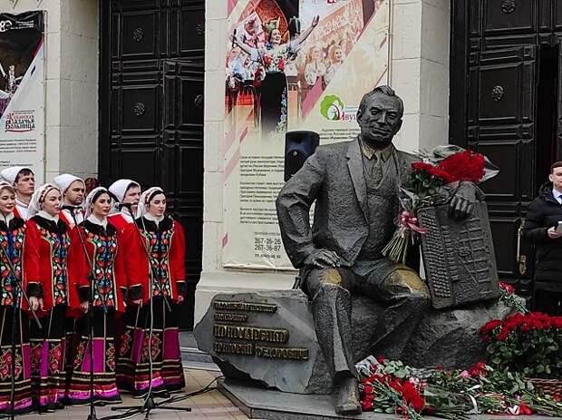 100 лет Пономаренко: памятный митинг и возложение цветов к памятнику