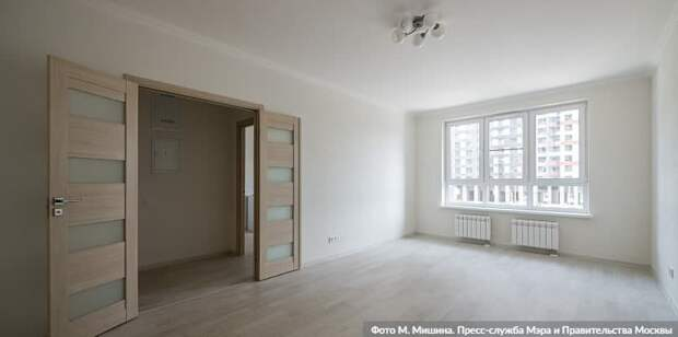 Собянин: 1 млн кв метров жилья по программе реновации построено в Москве.Фото: М. Мишин mos.ru