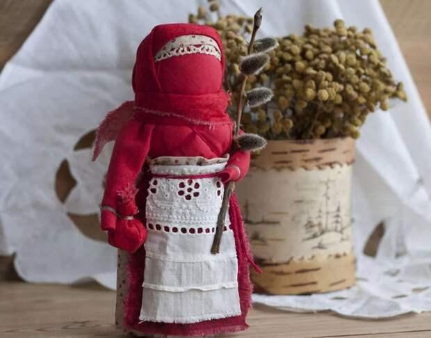 Пасхальная кукла Вербница