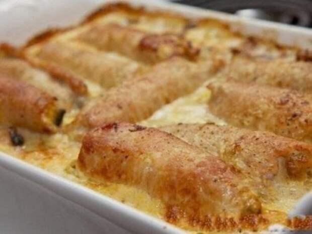 Рецепт изумительных мясных рулетов с грибной начинкой