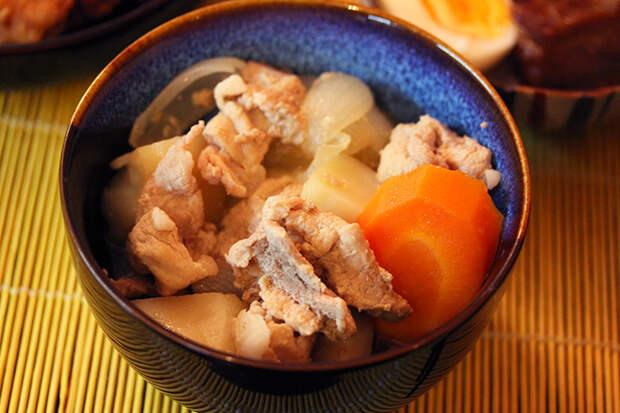"""""""Нику дзяга"""", или мясо с картошкой по-японски"""