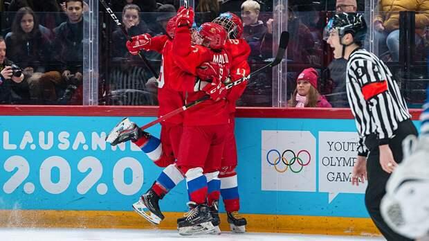 Россия разорвала Финляндию вполуфинале юношеских ОИ— 10:1. Зазолото наши будут рубиться сСША