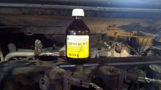 Автомеханик показал, как димексид влияет на отложения на маслосъёмных кольцах