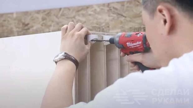 Практичный способ хранения ручного инструмента