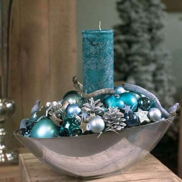 Зимний букет и рождественские композиции. МАСТЕР-КЛАСС