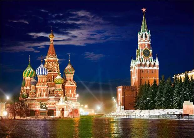 Россия Кремль