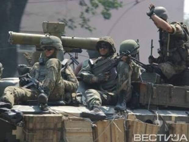Силы АТО закрепились в Безымянном, контролируют Новоазовск