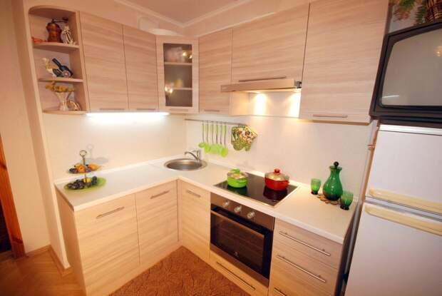 25 лучших решений для чрезмерно маленьких кухонь