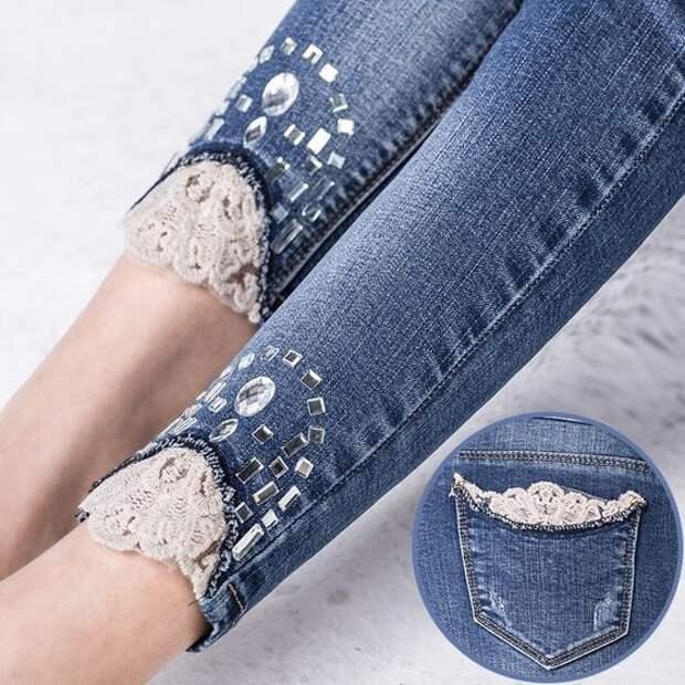 Стильные идеи для обновления джинсов