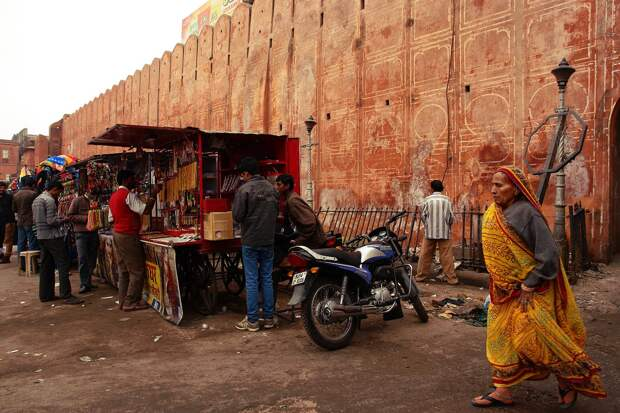 Jaipur08 Оттенки серого. Оттенки розового