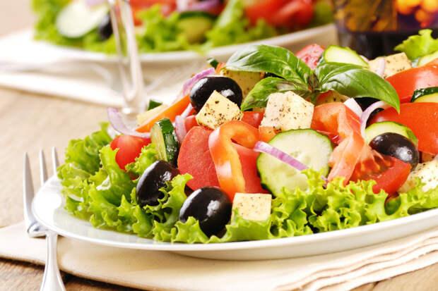 Греческий салат - 5 рецептов