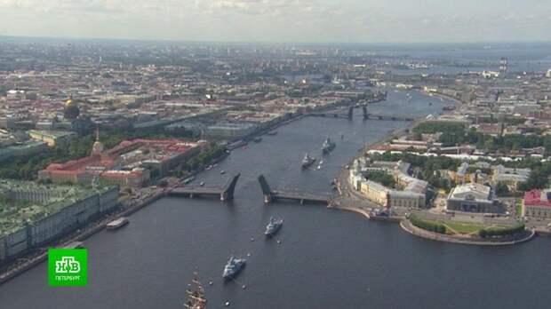 Салют в честь Дня ВМФ дадут в Кронштадте, а не в Петербурге