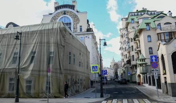 Жилой дом в Хомутовском тупике капитально отремонтируют
