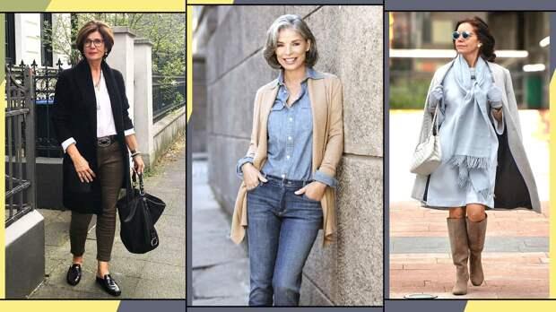 У каждого свой взгляд на стиль и вкус, но эти образы подходят любой женщине 50+