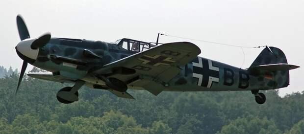 Messerschmitt Bf.109 автомобили, вертолёты, самое массовое, самое-самое, самолёты, техника