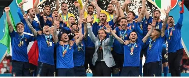 Сборная Италии стала чемпионом Европы