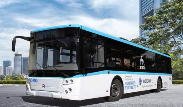 Поавтобусам наСПГ Санкт-Петербург будет впереди России всей
