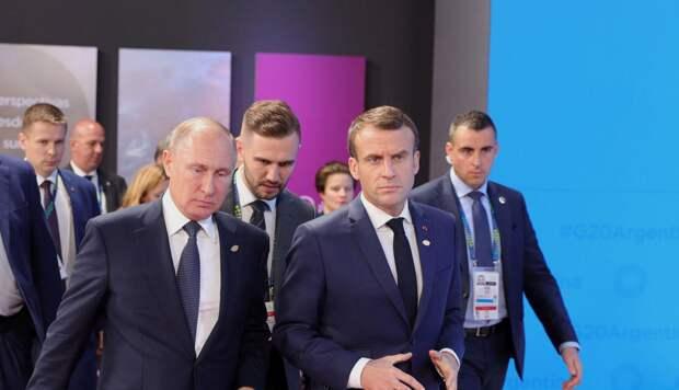 Зачем Макрон хочет наладить стратегический диалог с Россией?