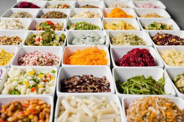 7 салатов на подбор