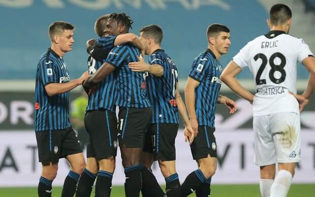 «Аталанта» обыграла «Специю», забив три гола. Миранчук остался в запасе