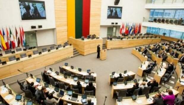 Литва приняла резолюцию стребованием отключить Россию отSWIFT   Продолжение проекта «Русская Весна»