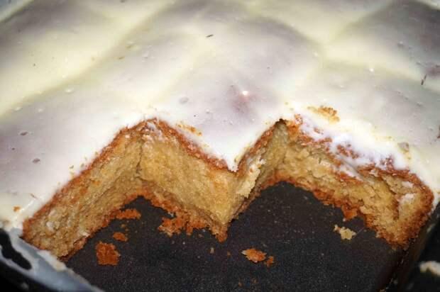 Творожный пирог «Удача» с изюмом