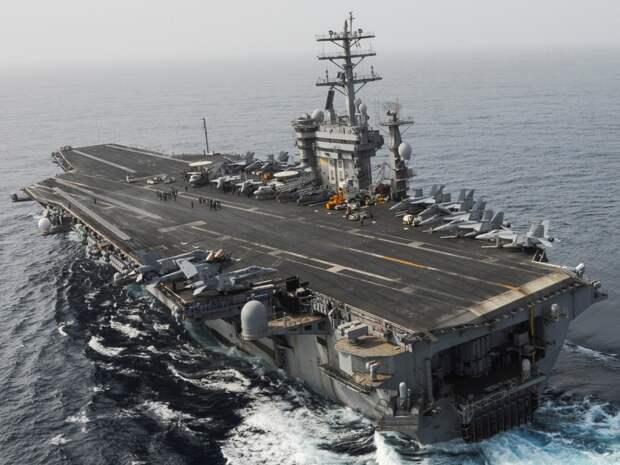 Авианосец ВМС США. Источник изображения: