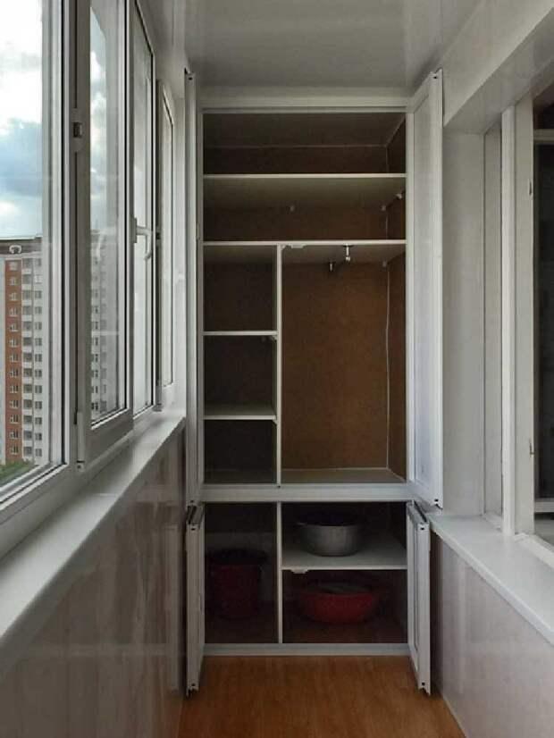 Полезные идеи для балкона