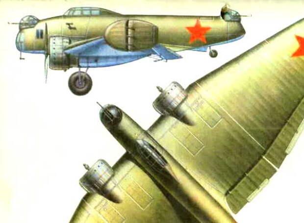 Советский бомбардировщик К-12. Этот самолет опередил время на 50 лет (2021)
