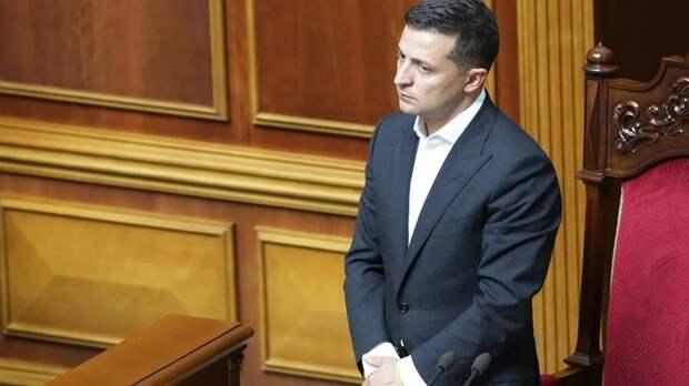 Зеленский внёс в Раду законопроект об импичменте