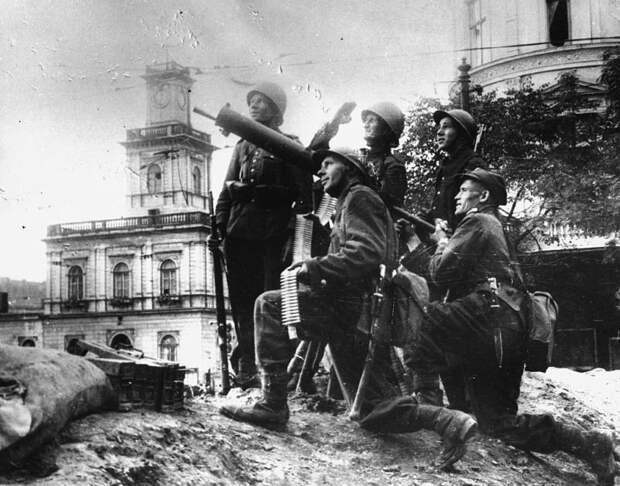 Сентябрьские пушки. Начало Второй мировой войны