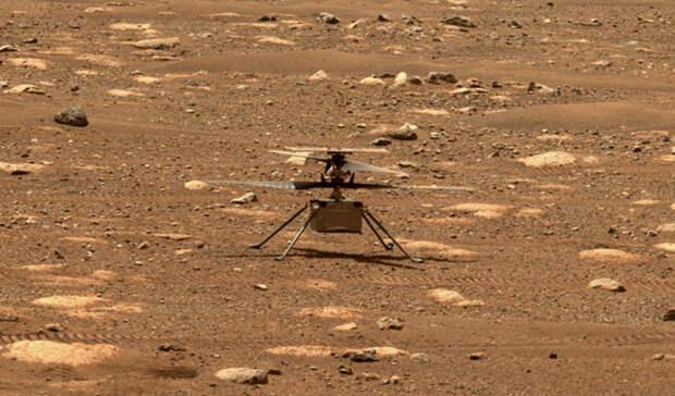 Впервые в истории с поверхности планеты Марс взлетел вертолет