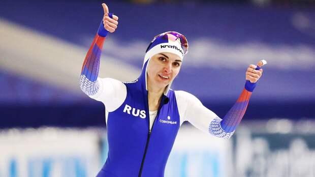 Российские конькобежки заняли 3-е место в гонке преследования на чемпионате мира