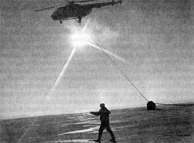 Как русские приводнили космический корабль