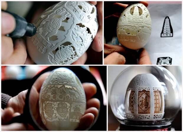20 невероятных поделок из яичной скорлупы, которые вызывают восторг