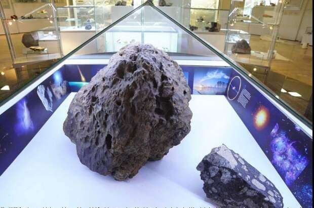В России загадочно поднялся купол над метеоритом