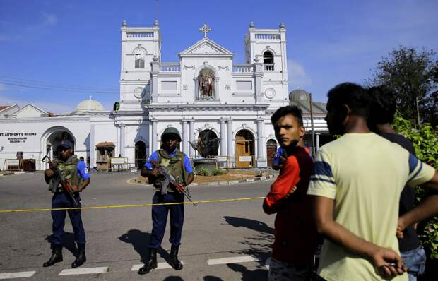 Кто стоит за терактами на Шри-Ланке?