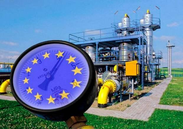 Газ в Европе стал рекордно дорогим