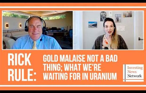 Рик Рул: слабость золота — это неплохо
