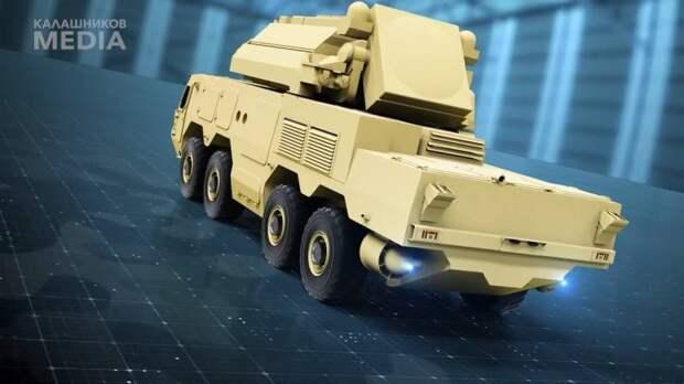 Перспективное специальное шасси СККШ-586