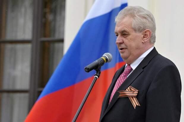 People's Voice: Президент Чехии не потерпит в своей стране «диктатуры США»