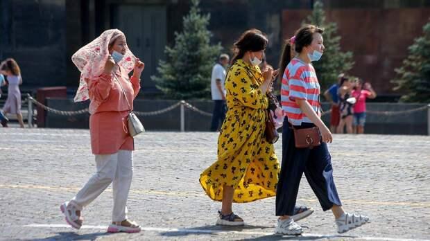 «Оранжевый» уровень опасности объявили в столице из-за жары